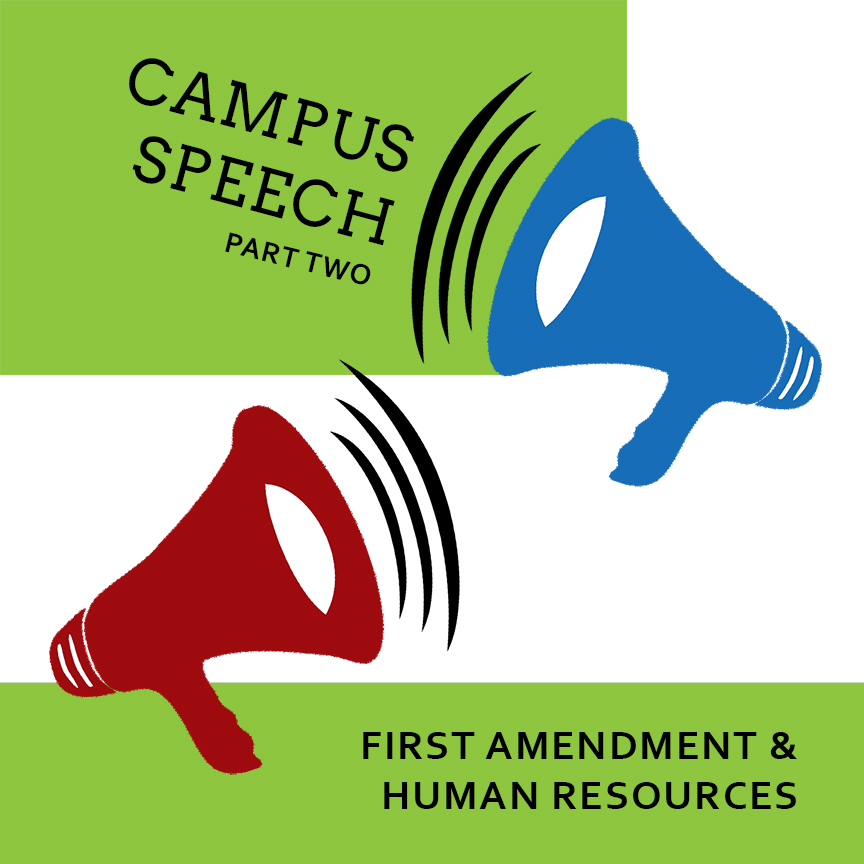 campus-speech-bullhorn-human-resources