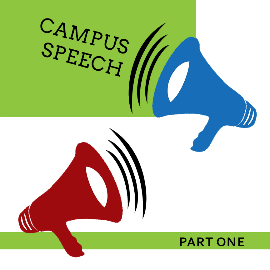 campus-speech-bullhorn