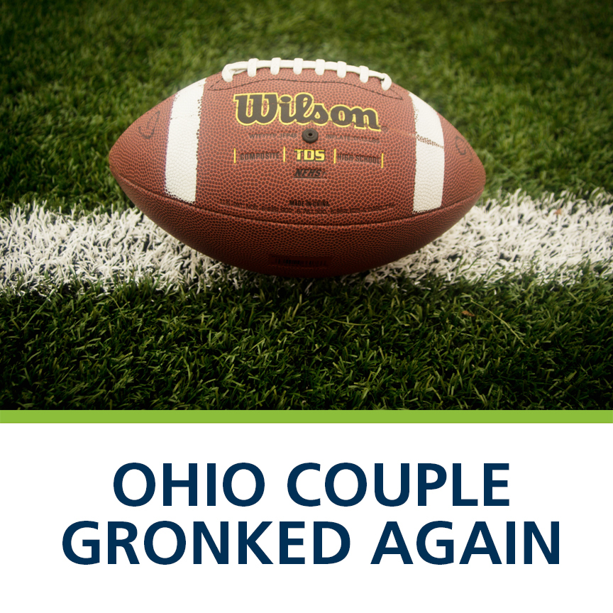 ohio couple gronked again gronking