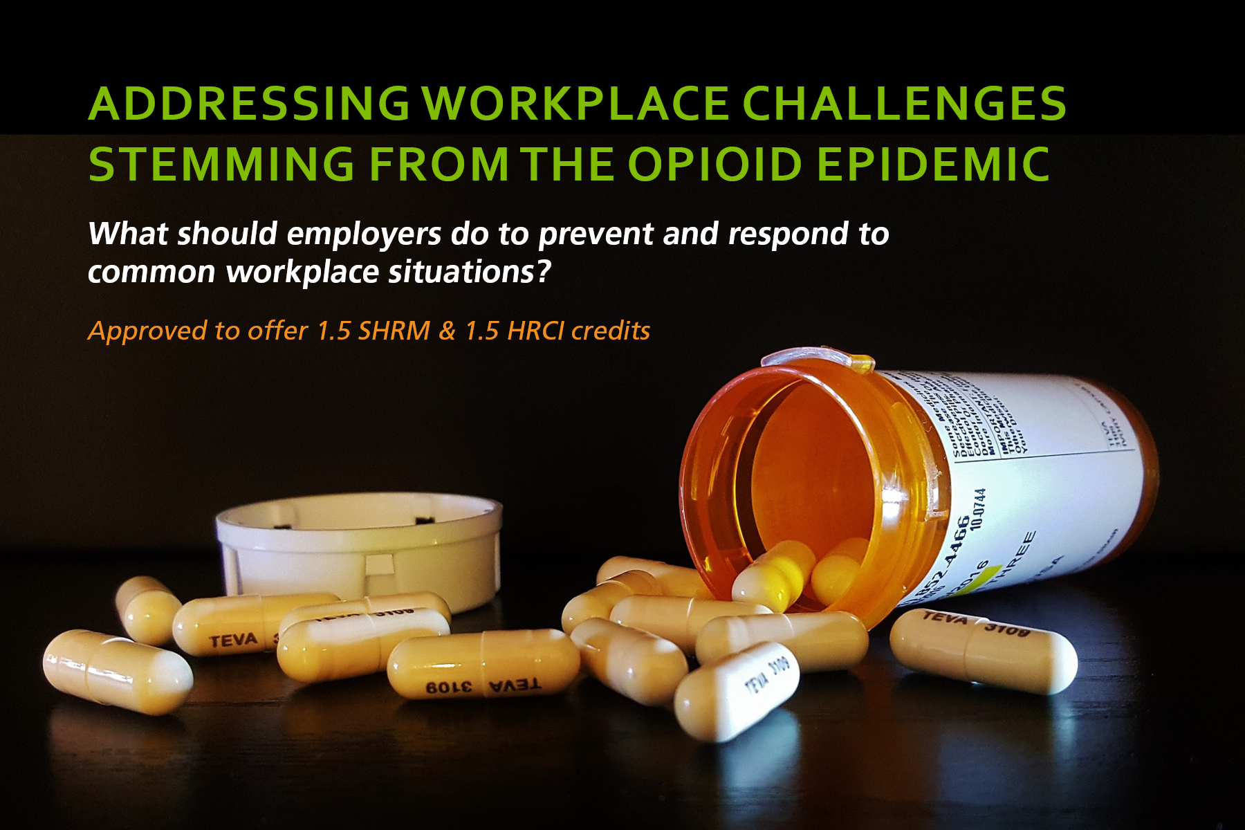 Addressing Workplace Challenges Stemming from the Opioid Epidemic