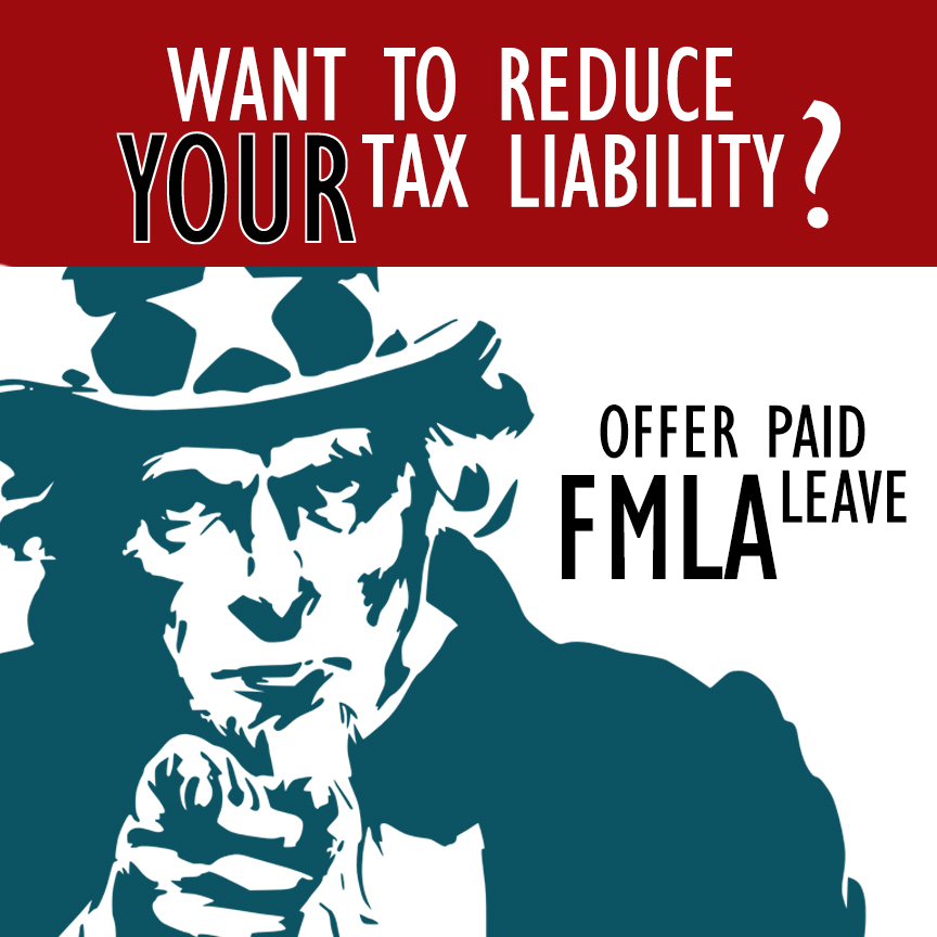 reduce tax liability family medical leave