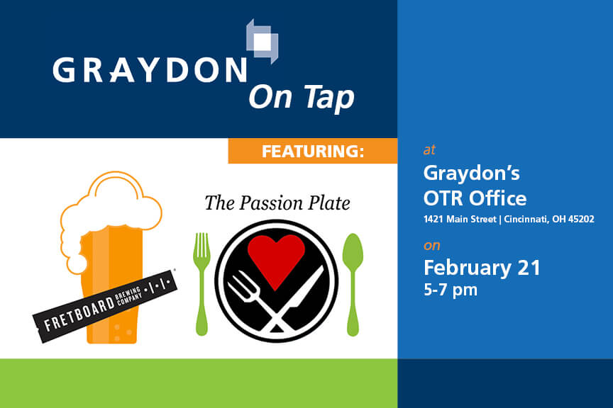 Graydon on Tap Invitation February 21 2018