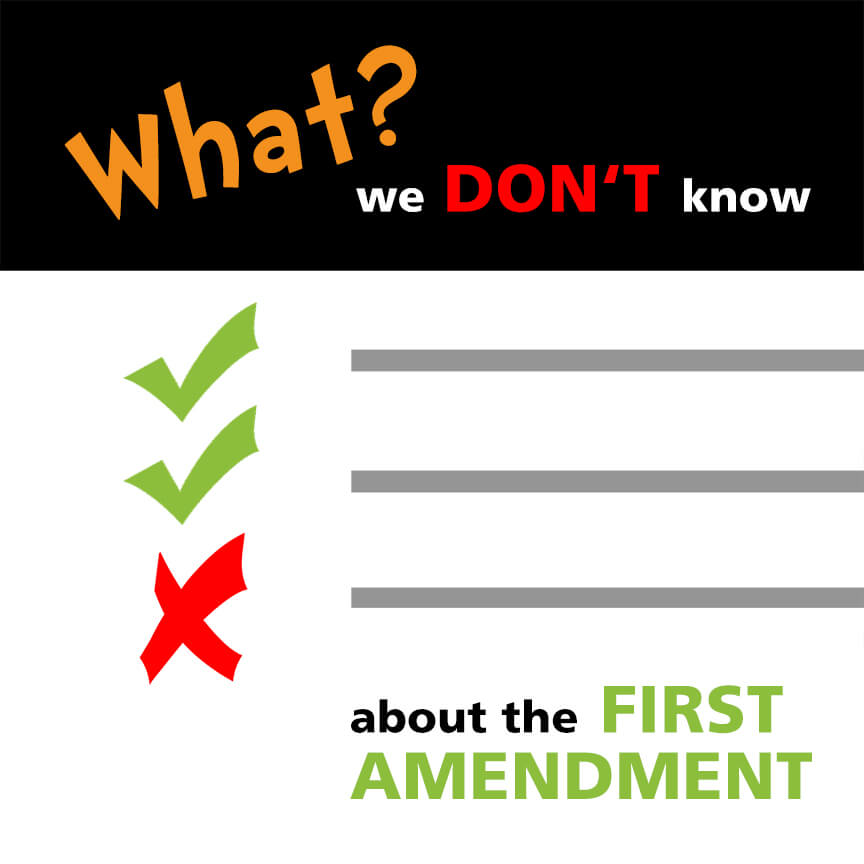 what we don't know about the first amendment