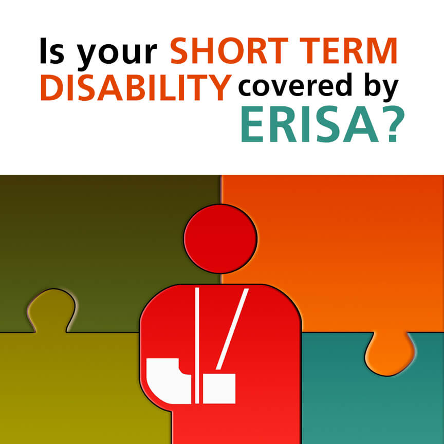 short term disability covered erisa