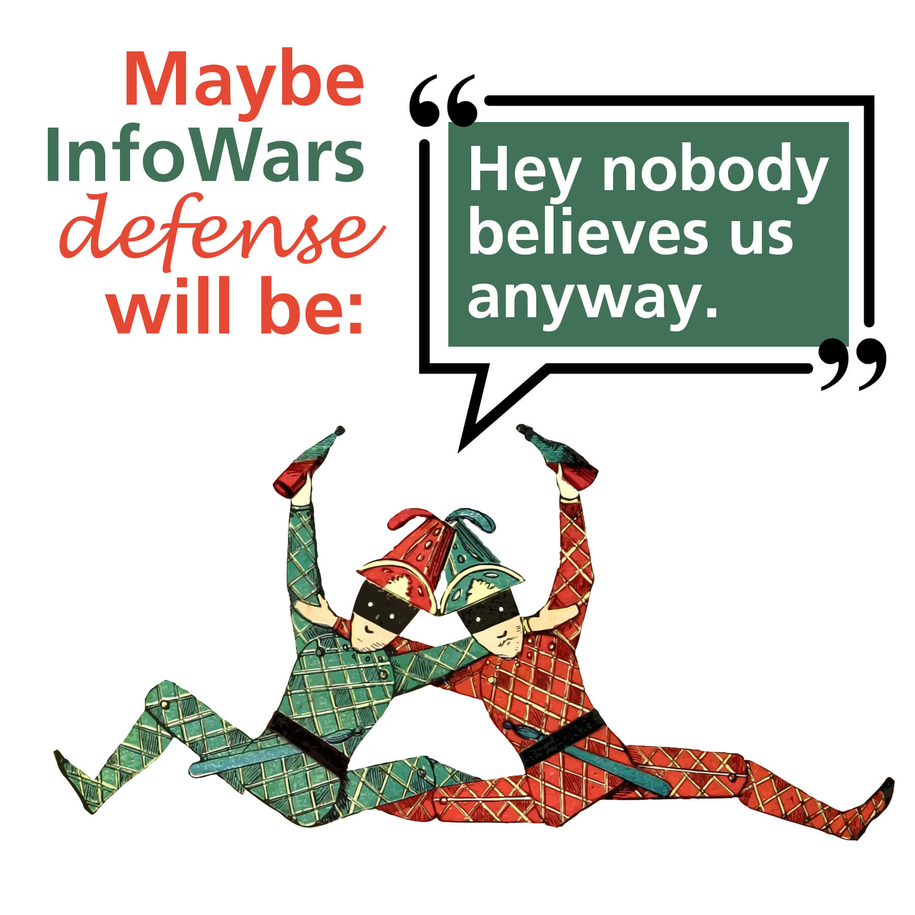 InfoWars defense nobody believes us
