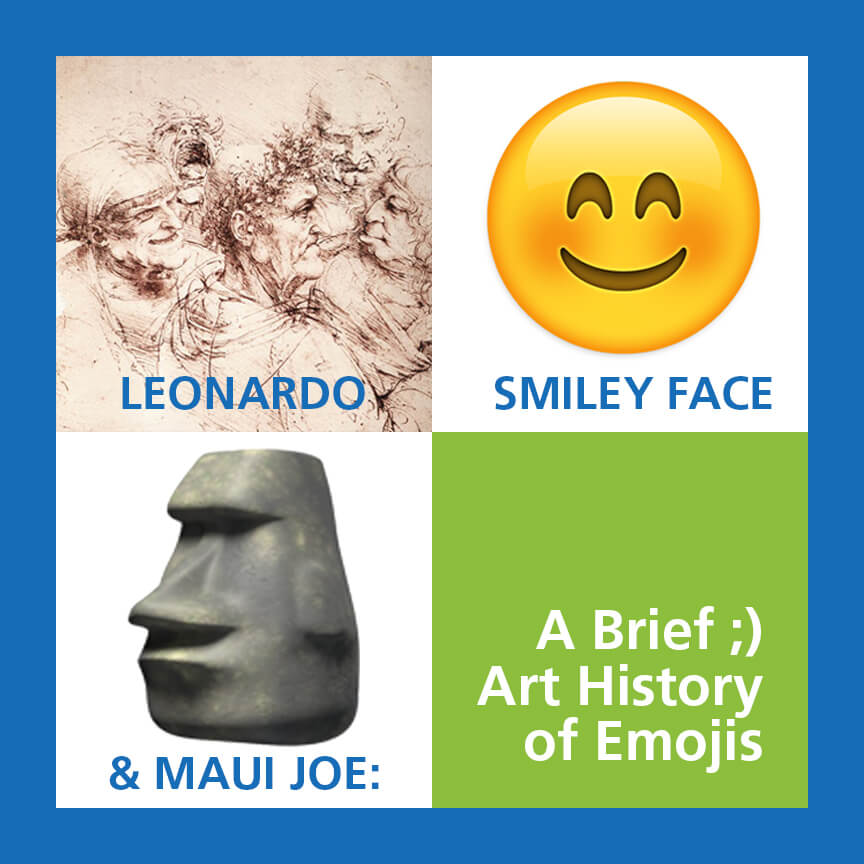 leonardo smiley face maui joe art history of emojis