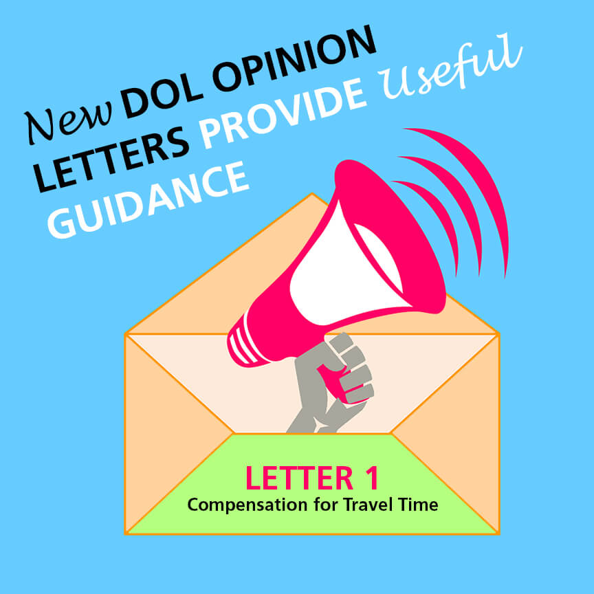new dol opinion letter on travel time