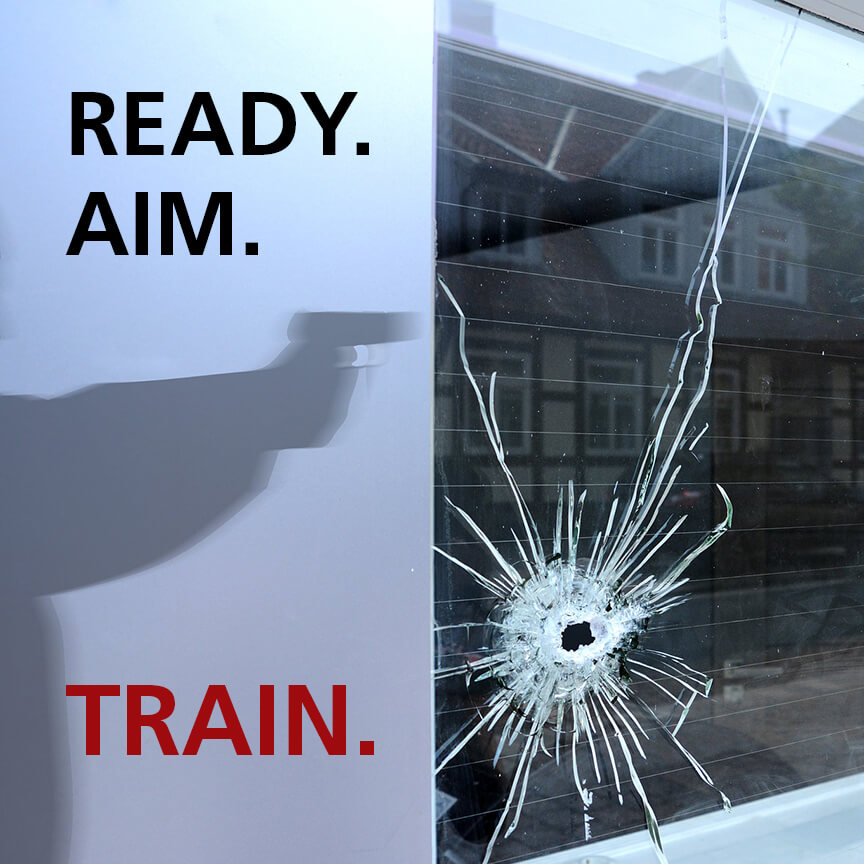ready aim train active shooter in the workplace