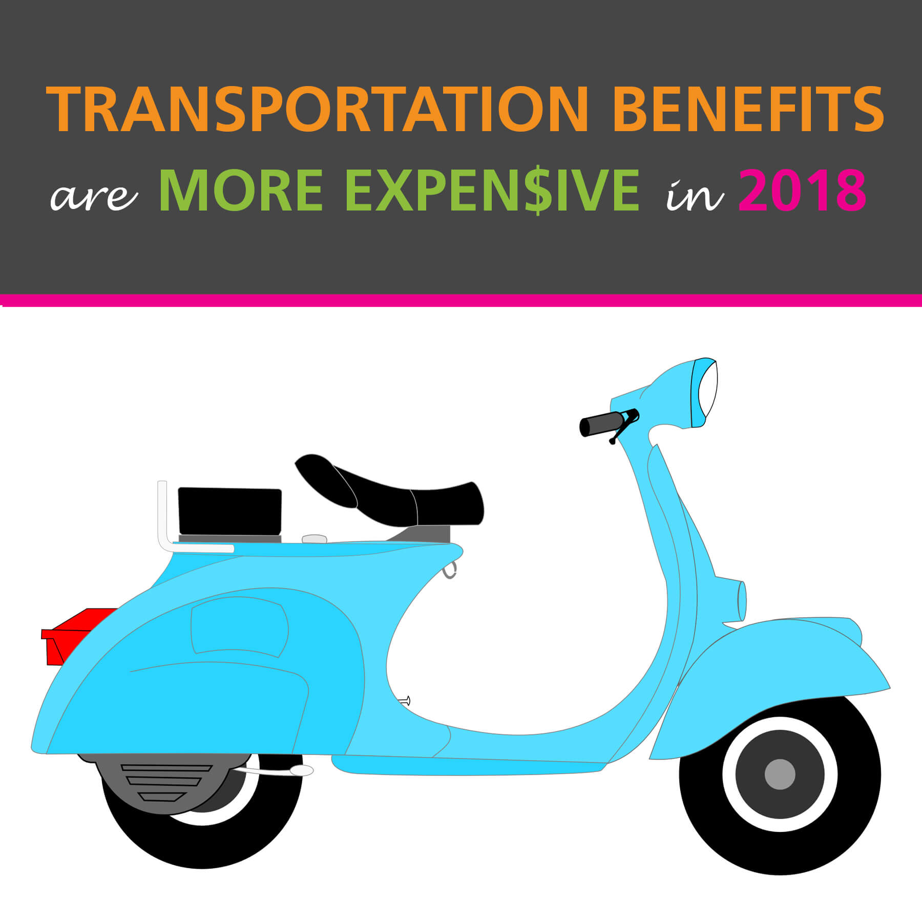 transportation benefits more expensive in 2018