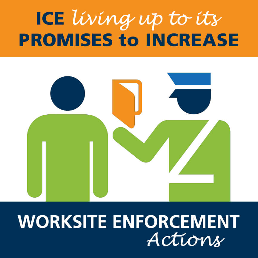 ice increase worksite enforcement actions i-9 audits