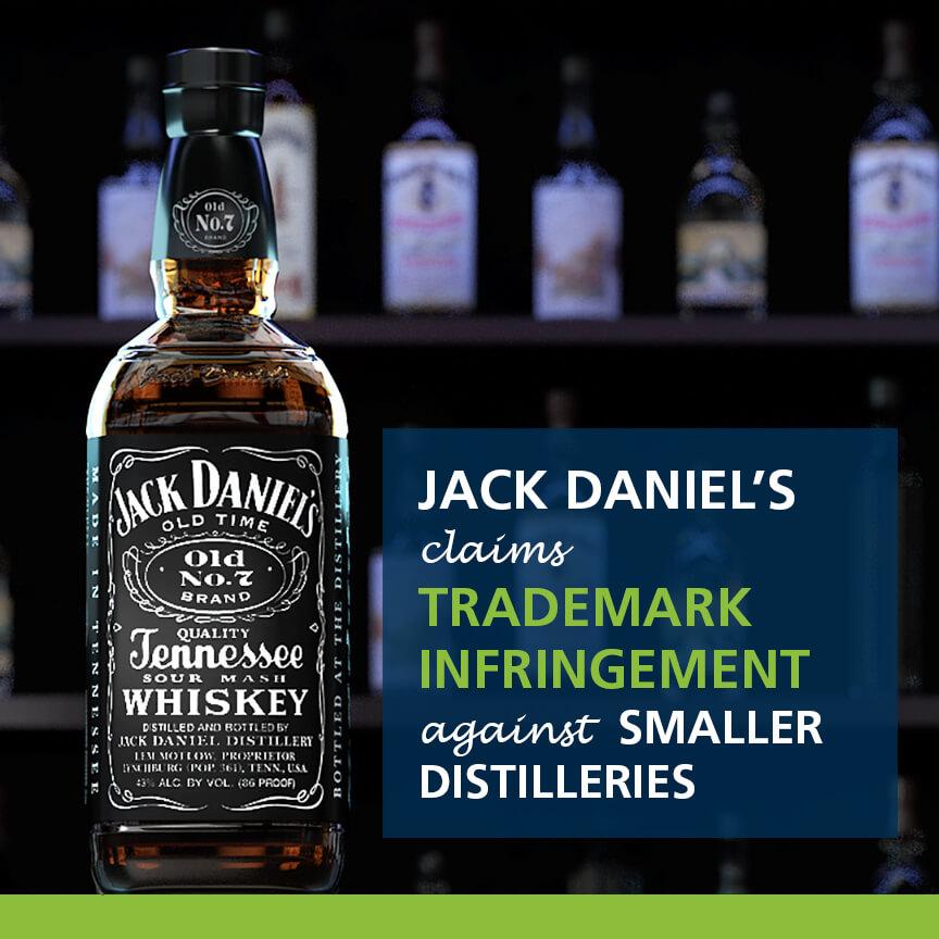 jack daniels claims trademark infringement