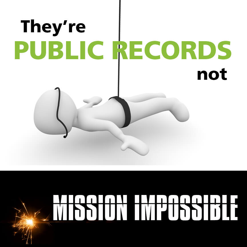 public records not mission impossible