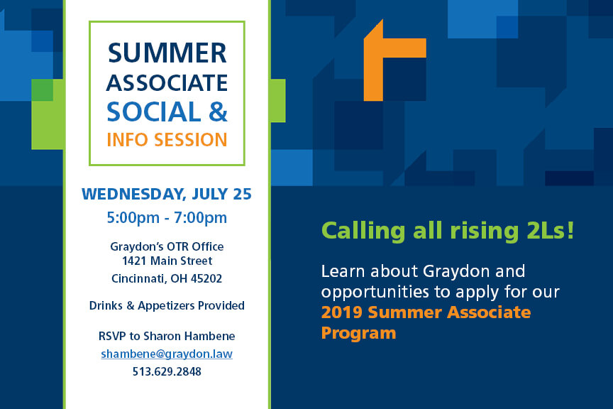 Graydon Law Summer Associate Info Session
