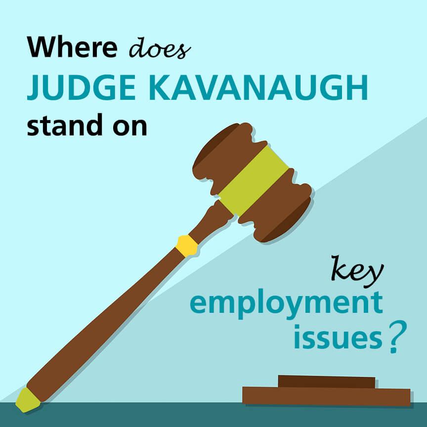 Judge kavanaugh employment issues