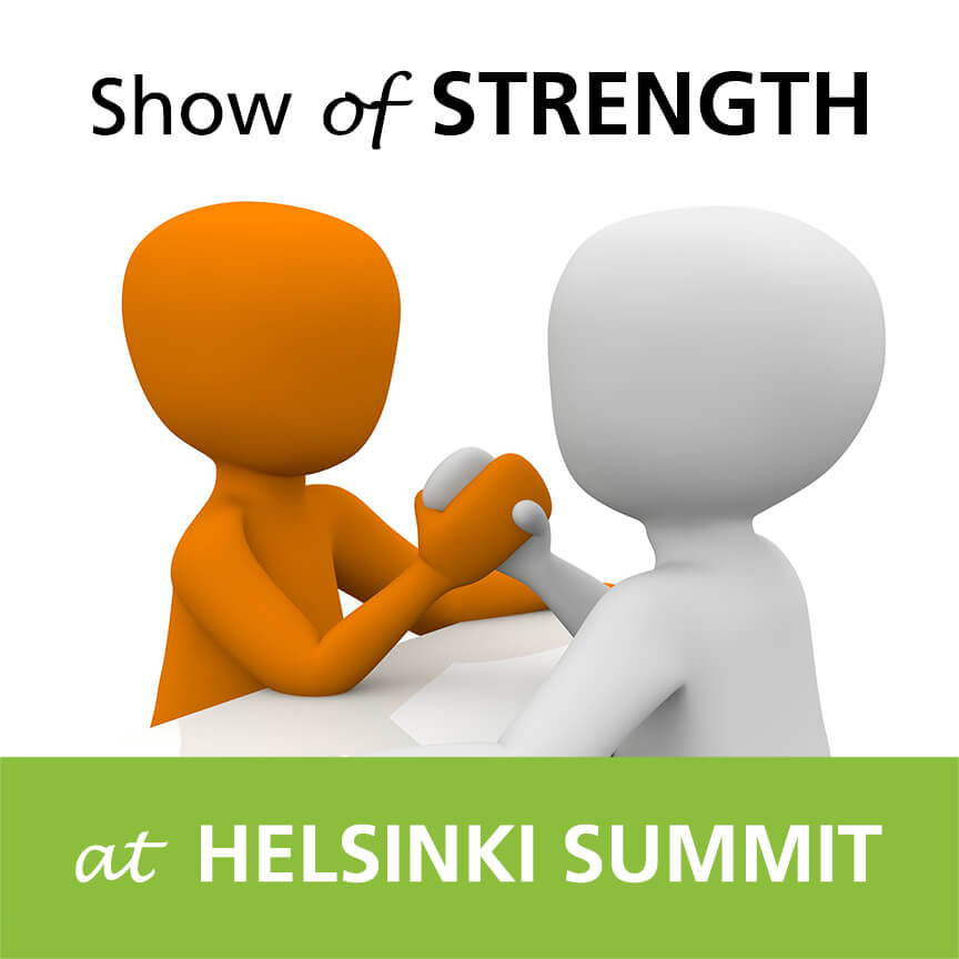 helsinki summit strength