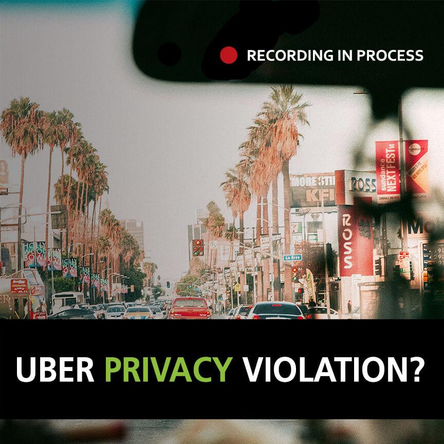 privacy violation uber