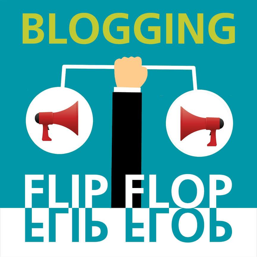 Blogging Flip Flop Libel