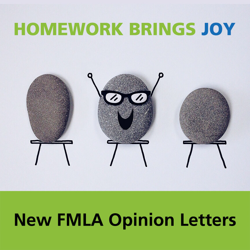 FMLA opinion letters