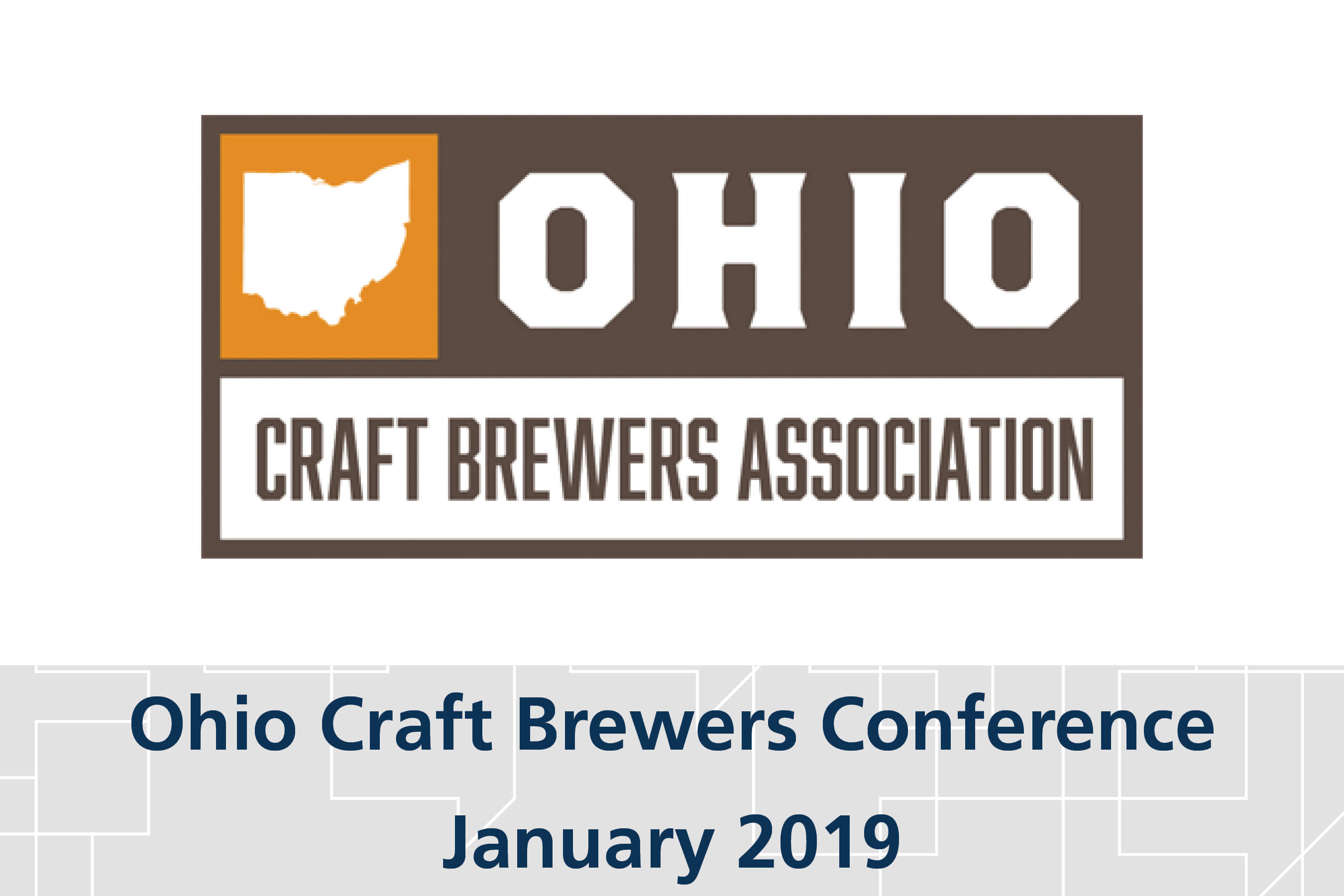 Ohio craft brewers conference graydon law for Craft shows in ohio