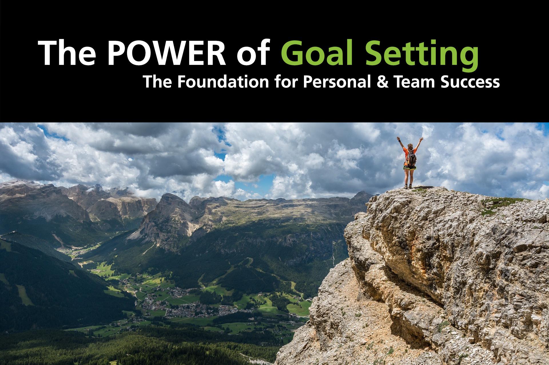 The Power of Goal Setting Graydon