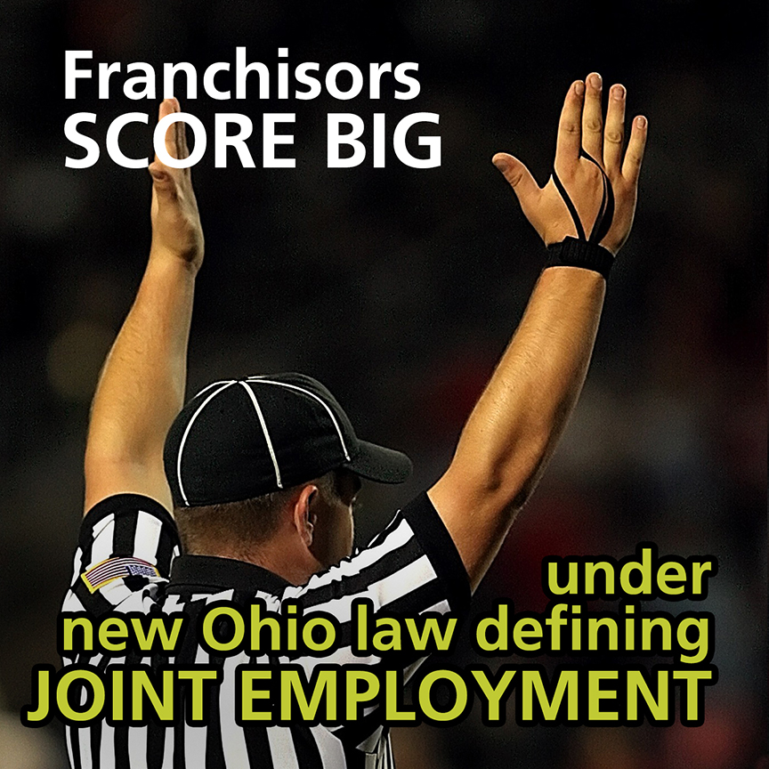 Franchisors Score Big Ohio Law Joint Employment