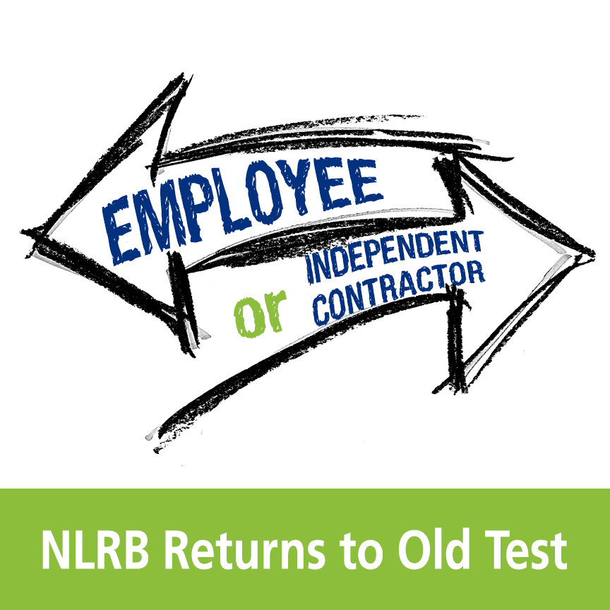 employee or independent contractor NLRB