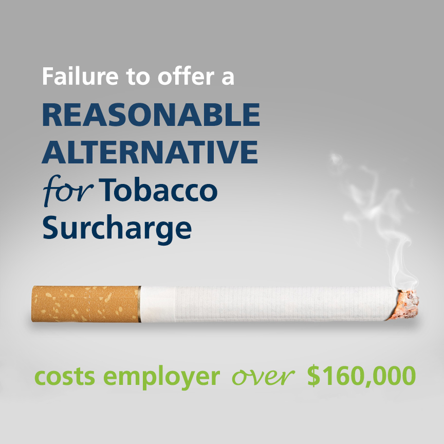 tobacco surcharge reasonable alternative
