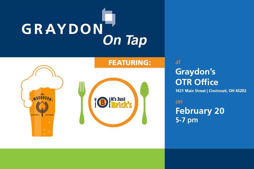 Graydon on Tap OTR Woodburn Brewery It's Just Bricks