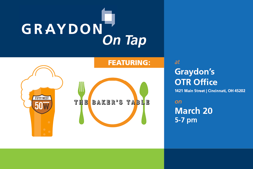 Graydon on Tap Fifty West Brewing The Baker's Table