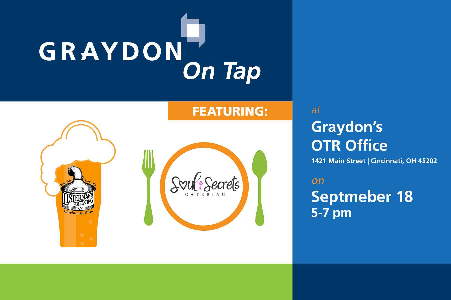 graydon on tap invitation september 18 soul secrets listermann