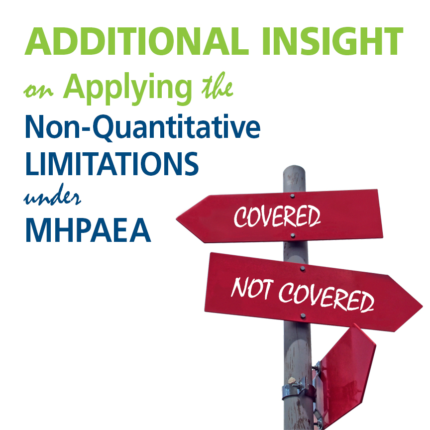 applying non-quantitative limitations under MHPAEA