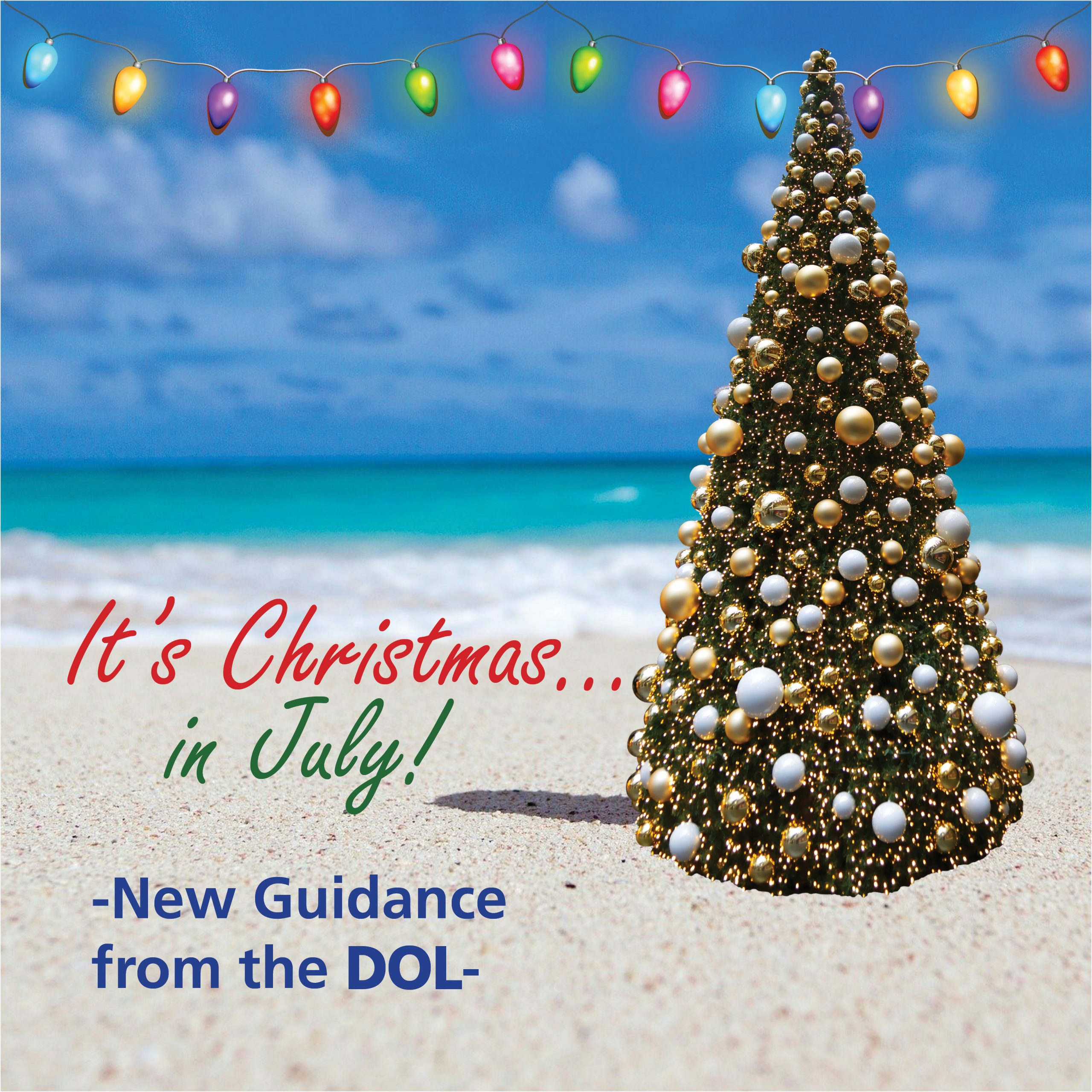 Its Christmas Eve 2020 It's Christmas In July! New Guidance from the DOL   Graydon Law